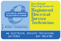 Registered Electrical Service Technician