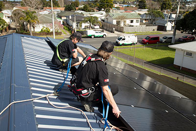 Solar Power Systems Installation